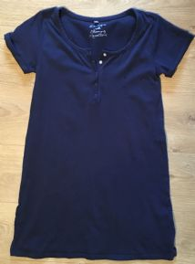 BLOOMING MARVELLOUS MOTHERCARE NAVY NURSING NIGHTIE/NIGHTDRESS SIZE S 10